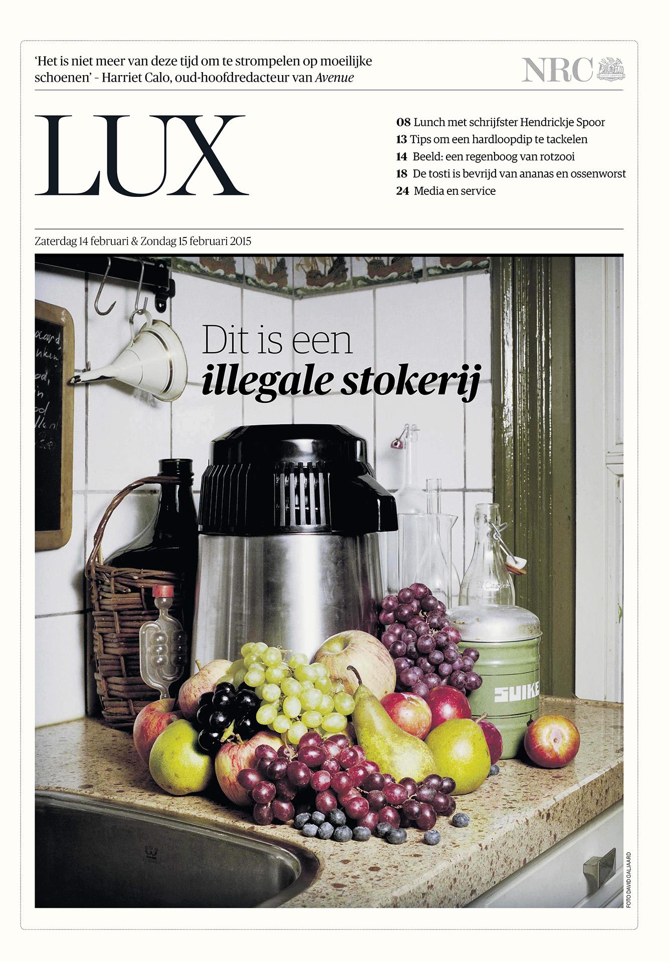 NRC Handelsblad - Zelf drank stoken - 2015 - David Galjaard