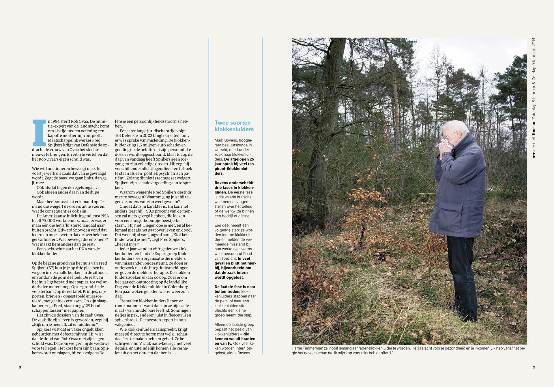 NRC Offline - Klokkenluiders - 2014 - David Galjaard