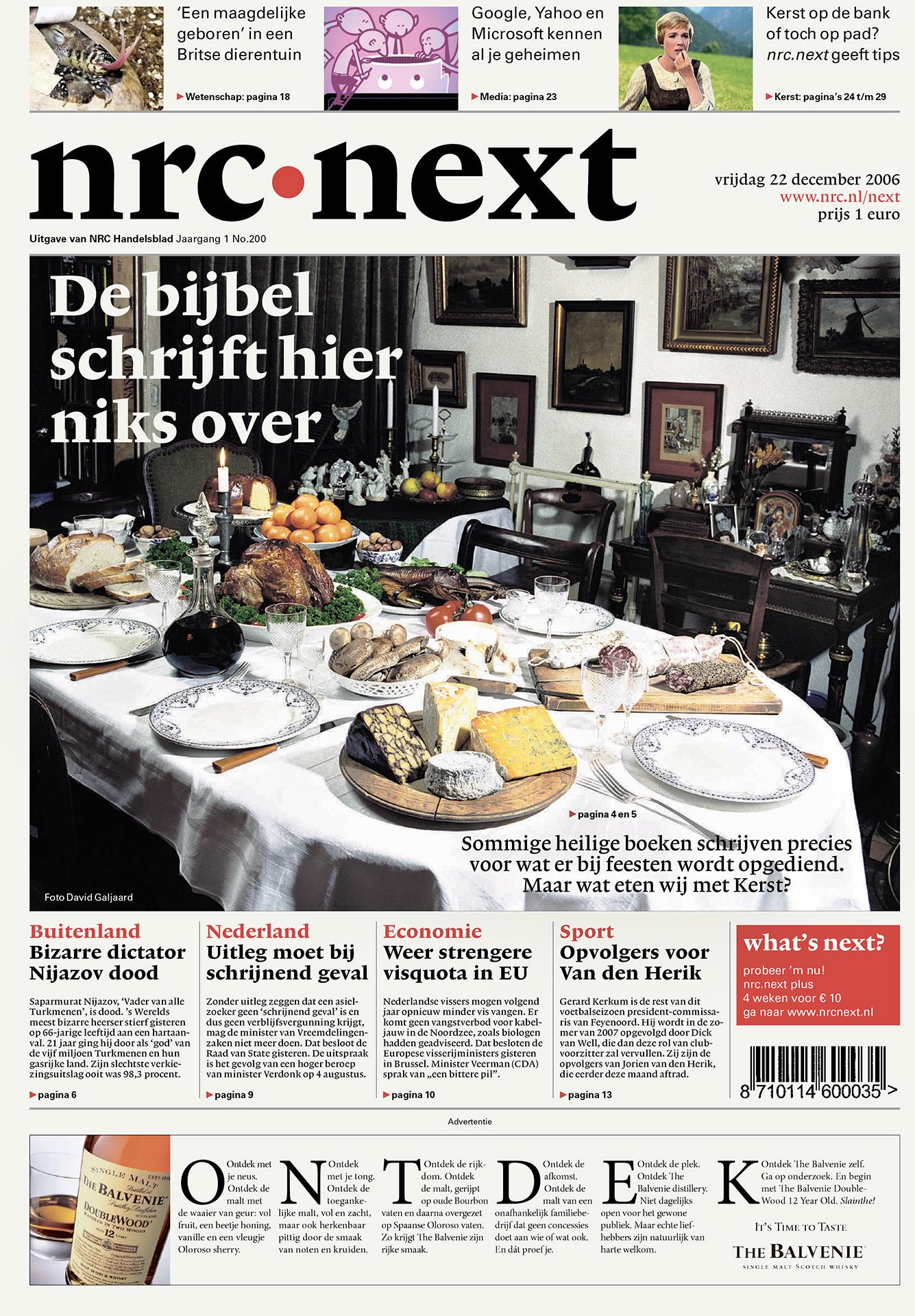 NRC Next - Gezond eten - David Galjaard