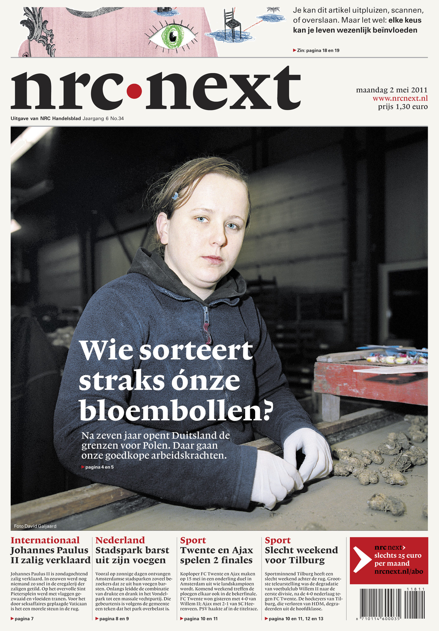 NRC Next - Cover Polen _ David Galjaard