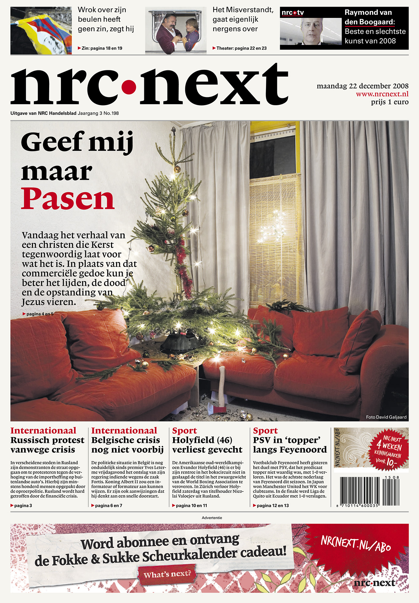 NRC Next - Cover kerst - David Galjaard