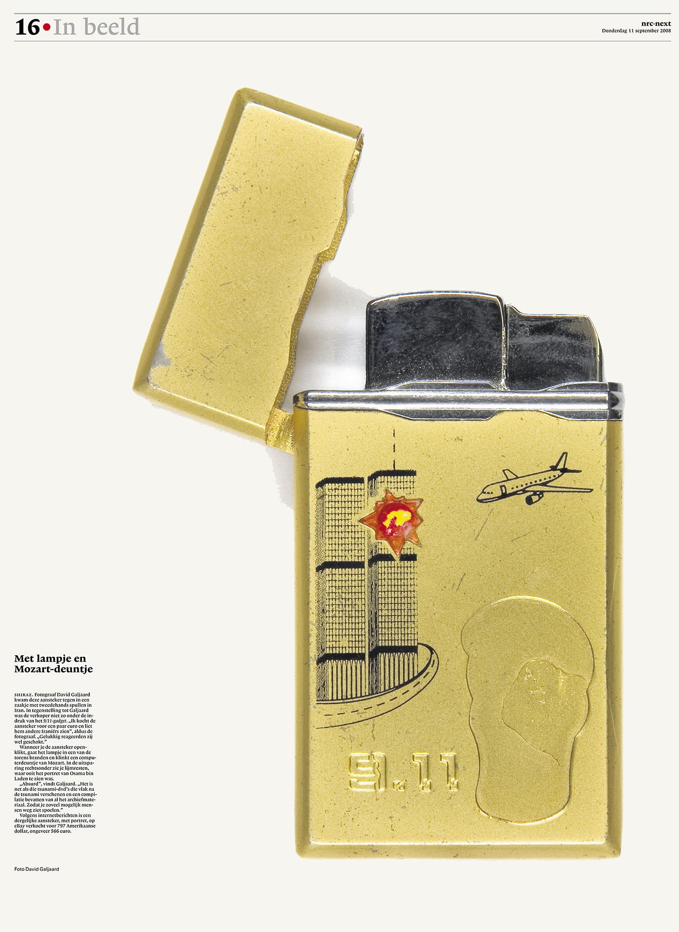 NRC Next - In beeld - 9/11 aansteker - David Galjaard