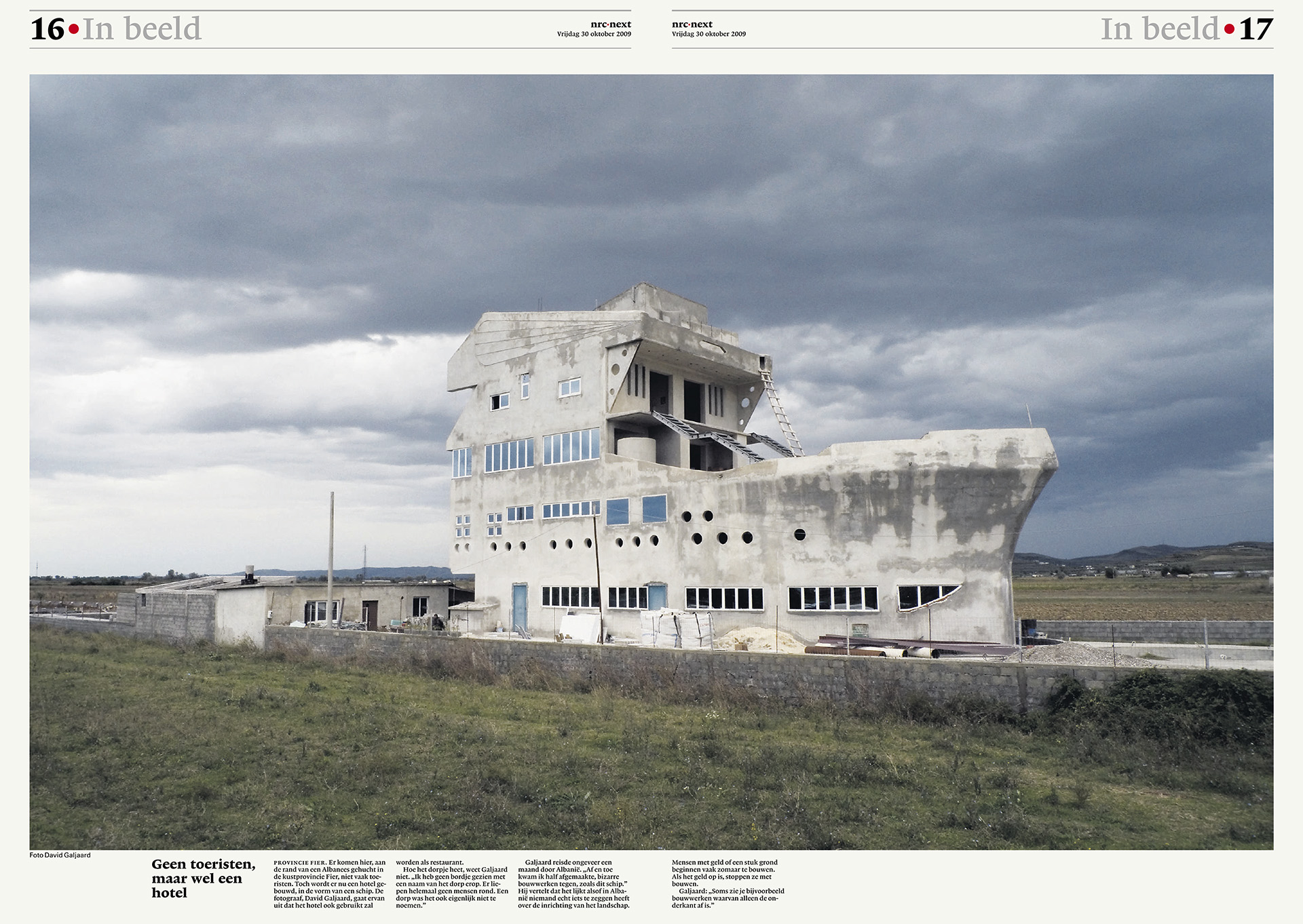 NRC Next - In beeld - Schip - David Galjaard