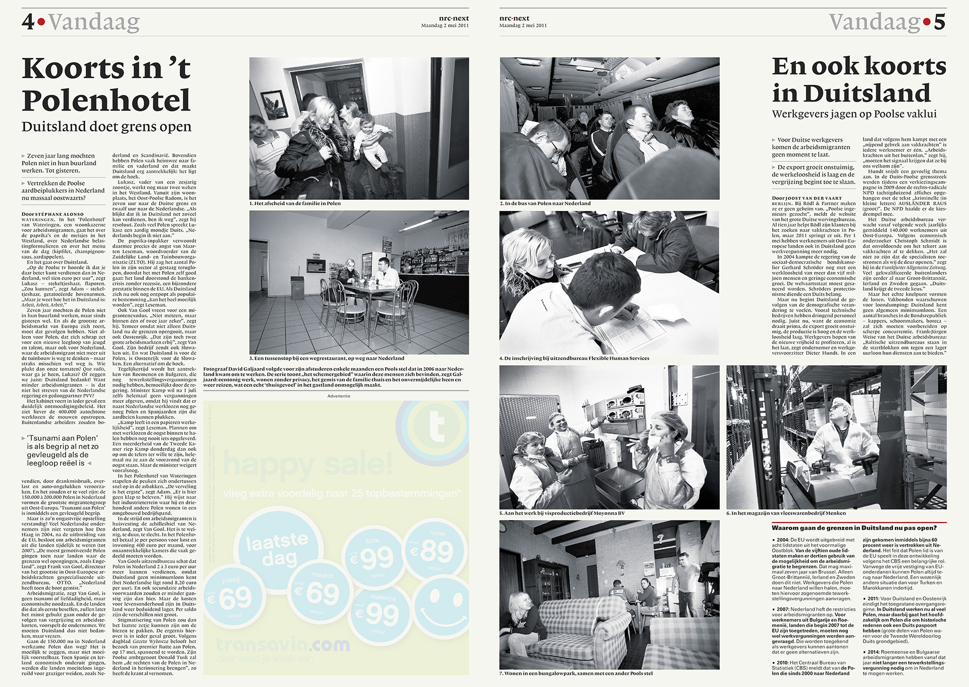 NRC Next - Spread Polen _ David Galjaard