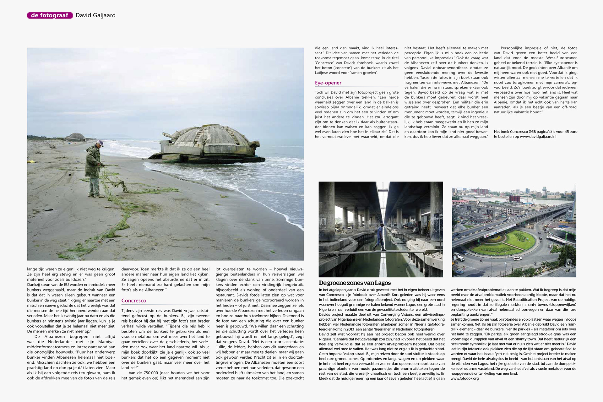 Chip Foto Video Magazine - Interview - Concresco - David Galjaar