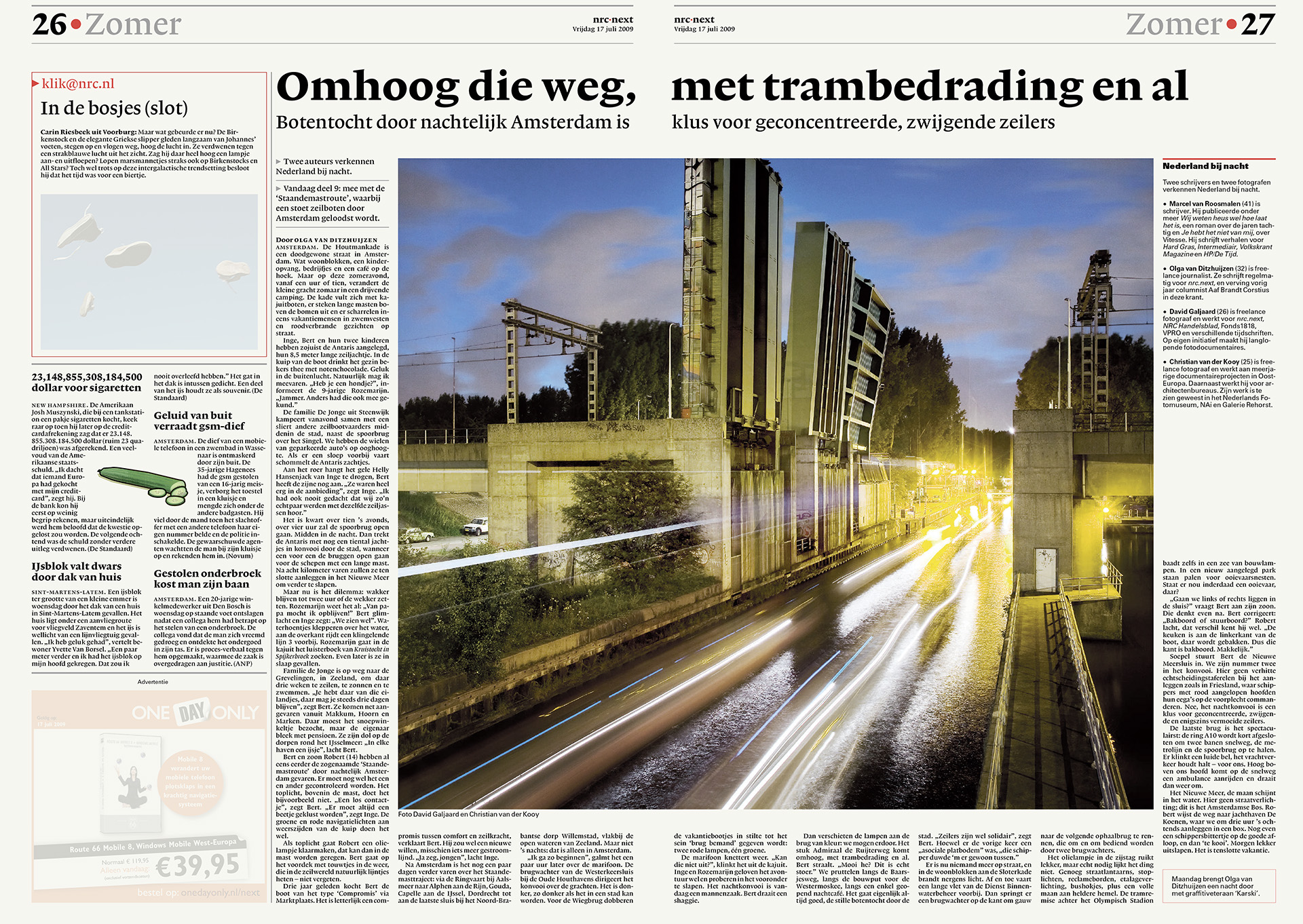 NRC Next - Nederland bij nacht - David Galjaard
