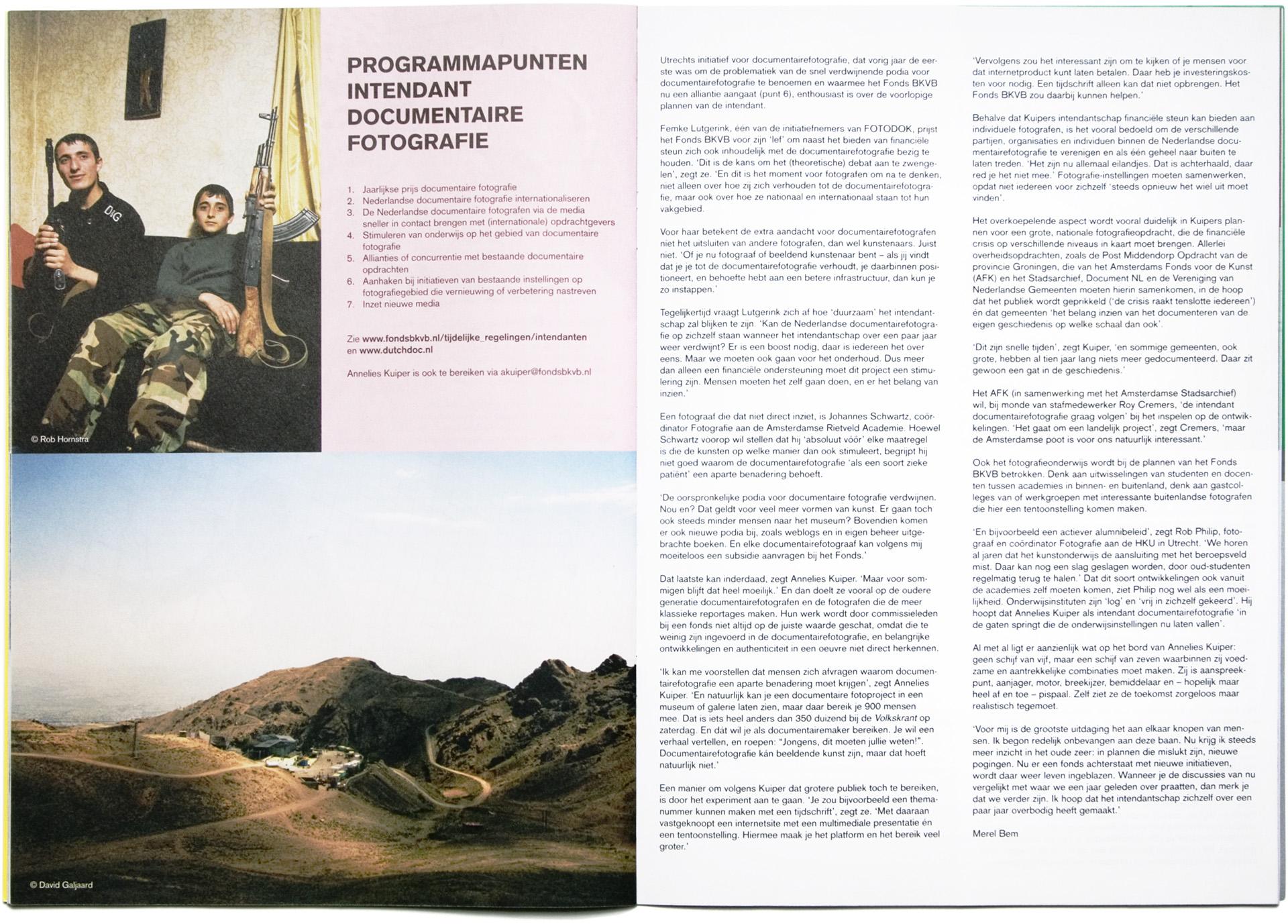 BKVB Magazine - Vrije tijd in Iran - David Galjaard