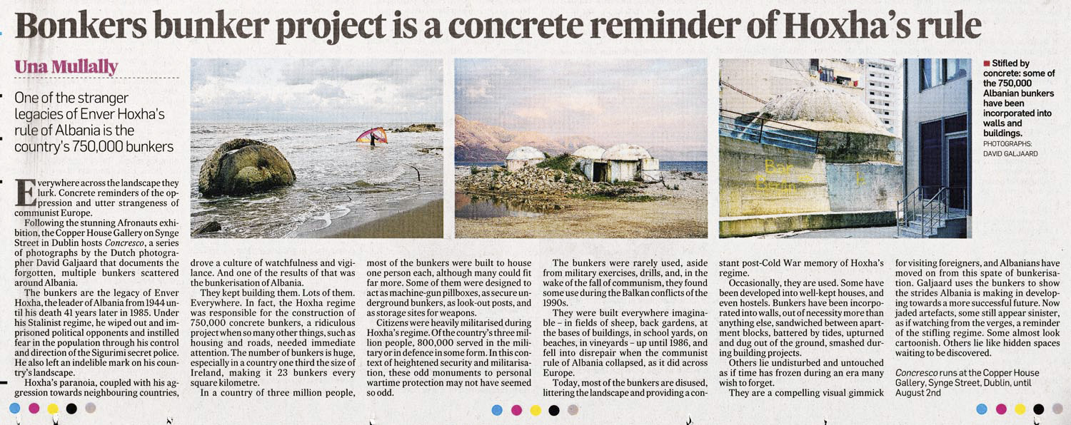 Irish Times - Concresco - David Galjaard