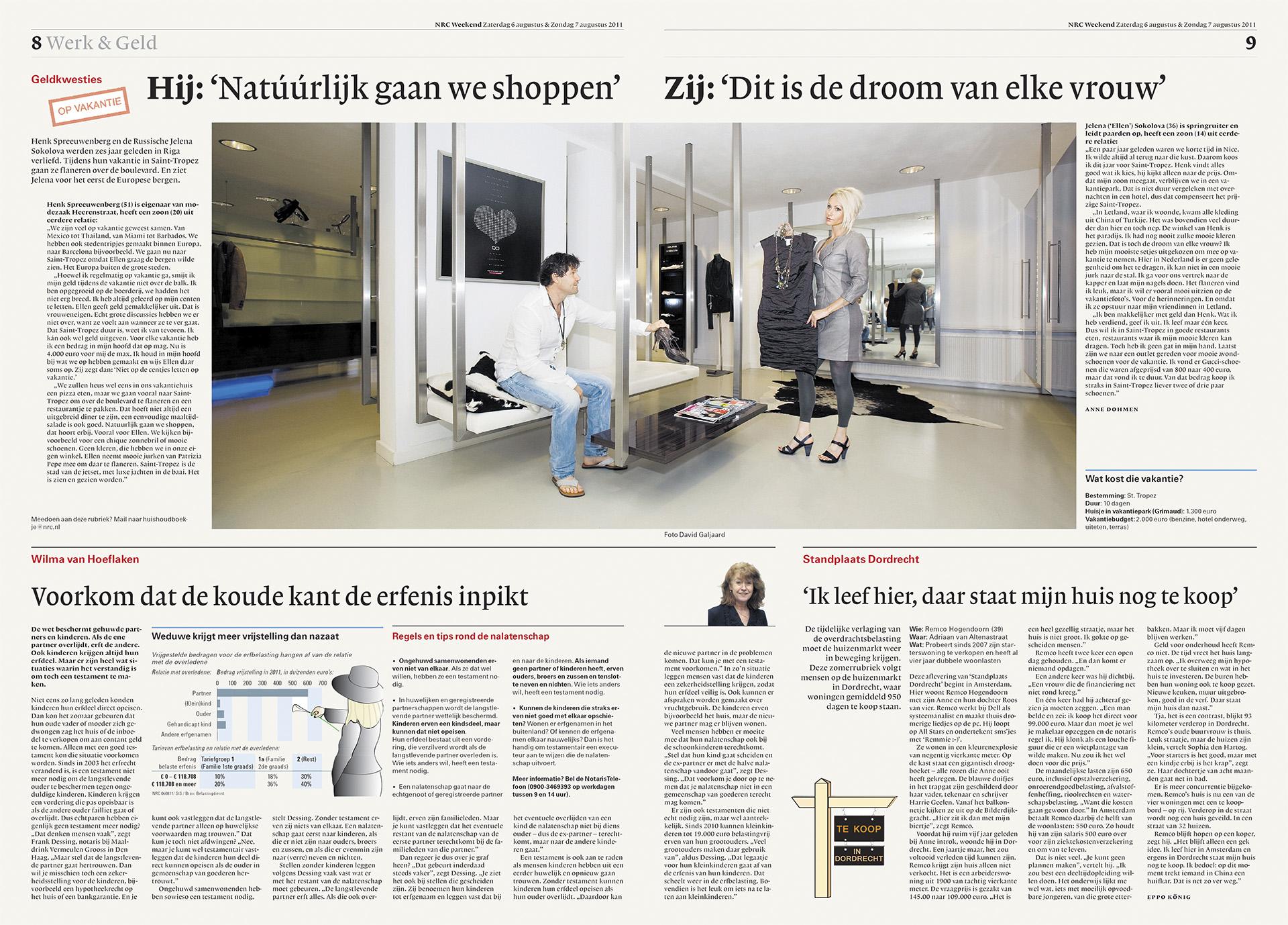NRC Handelsblad - Huishoudboekje - David Galjaard